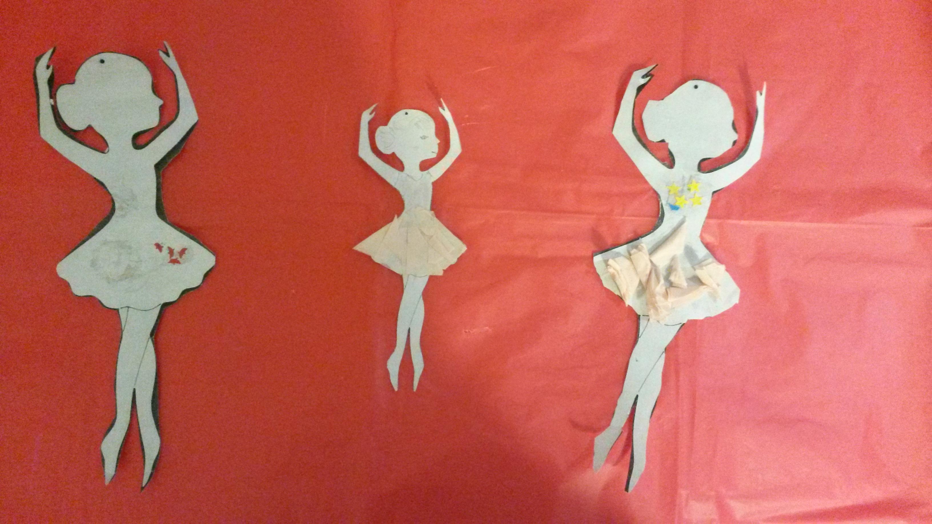 tvořivé dílničky - výroba baletek