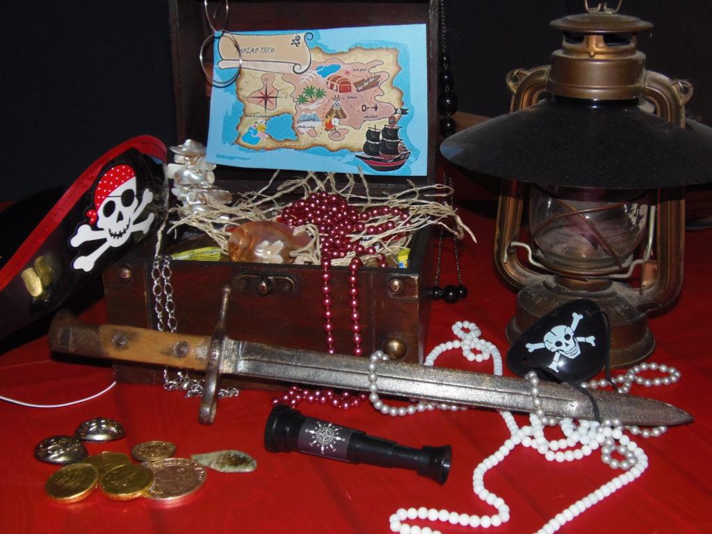 Pirátská oslava narozenin pro Thea leden 2018