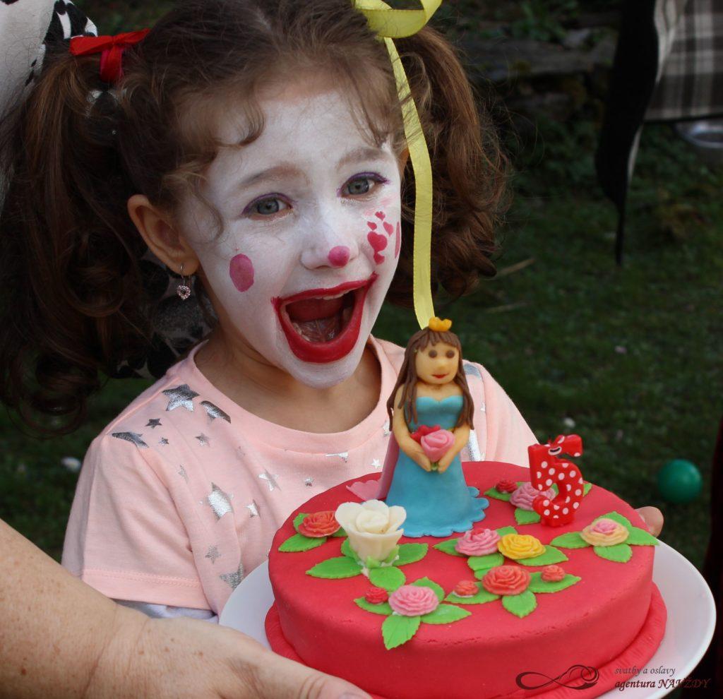 Cirkus narozeninová oslava