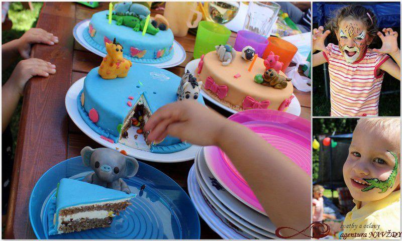 Safari narozeninová oslava